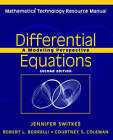 Differential Equations: A Modeling Perspective: Mathematica Technology Resource Manual by Courtney S. Coleman, Robert L. Borrelli (Paperback, 2004)