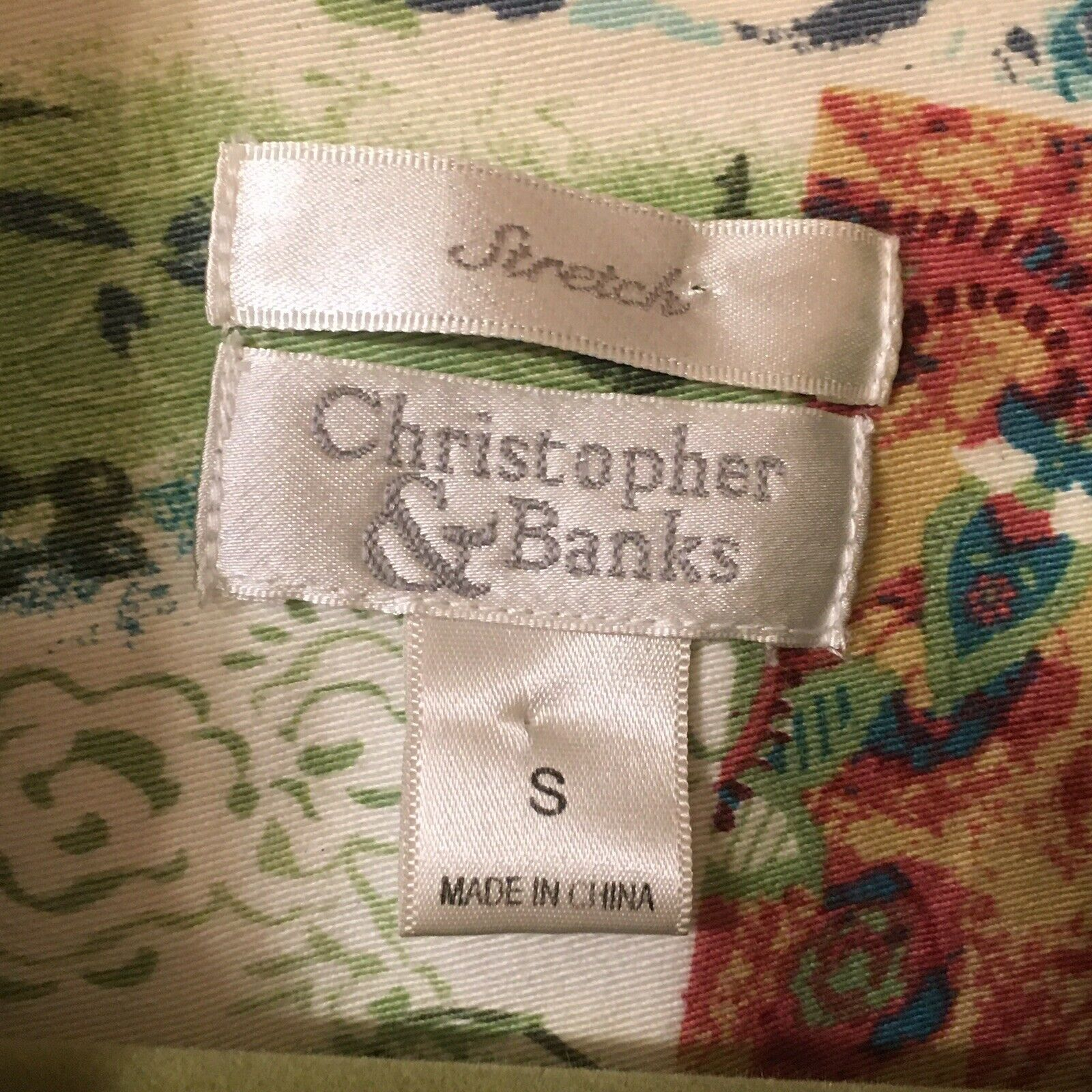 CHRISTOPHER & BANKS Jacket Women's Size Small Pea… - image 8