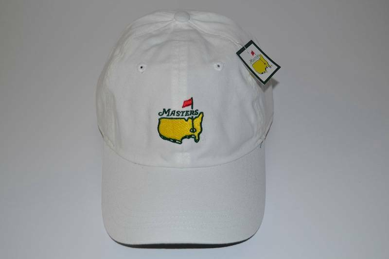 MASTERS FRONT AUGUSTA NATIONAL WHITE SLOUCH FRONT MASTERS HAT GOLF CAP NEW NWT 14d8c2