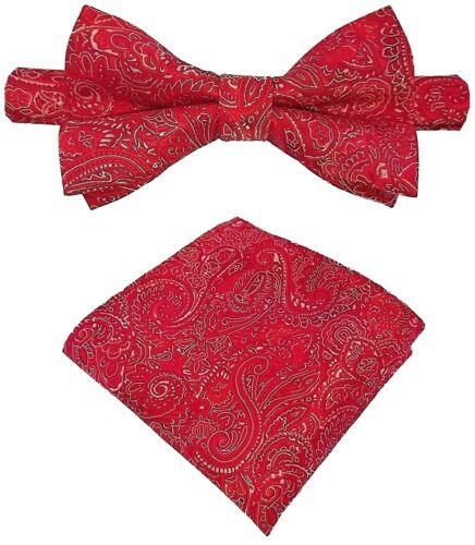 Mouche Plastron Boucle Smoking Mouche BINDER de LUXE 458 Rouge cravates
