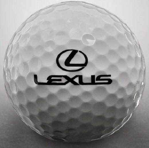 3 Dozen Warbird Mint AAAAA LEXUS AUTO LOGO Used Golf Balls