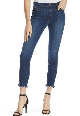 $ 189 Nwt Joe´s Sz25 Skinny Knöchel Ausgefranst Saum Hoher Jeans Stretch Kylie