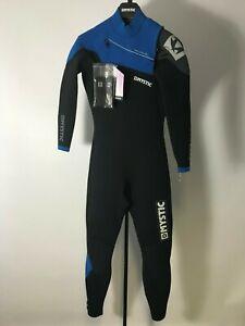 Mystic-Drip-Fullsuit-5-4mm-front-zip-wetsuit-Blue-Small