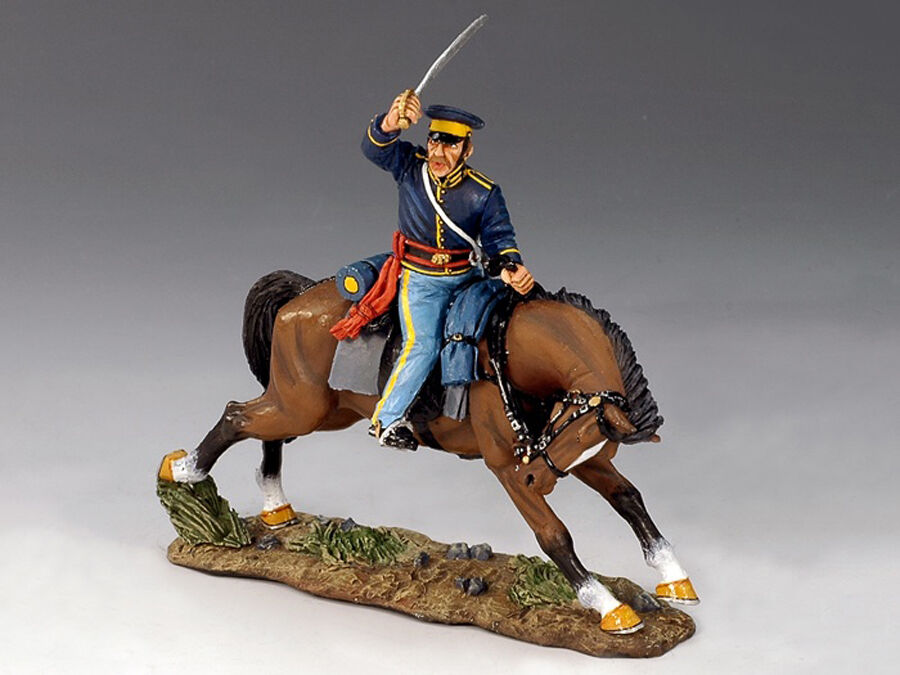 King & Country TRW03 - Mounted Dragoon With Sword