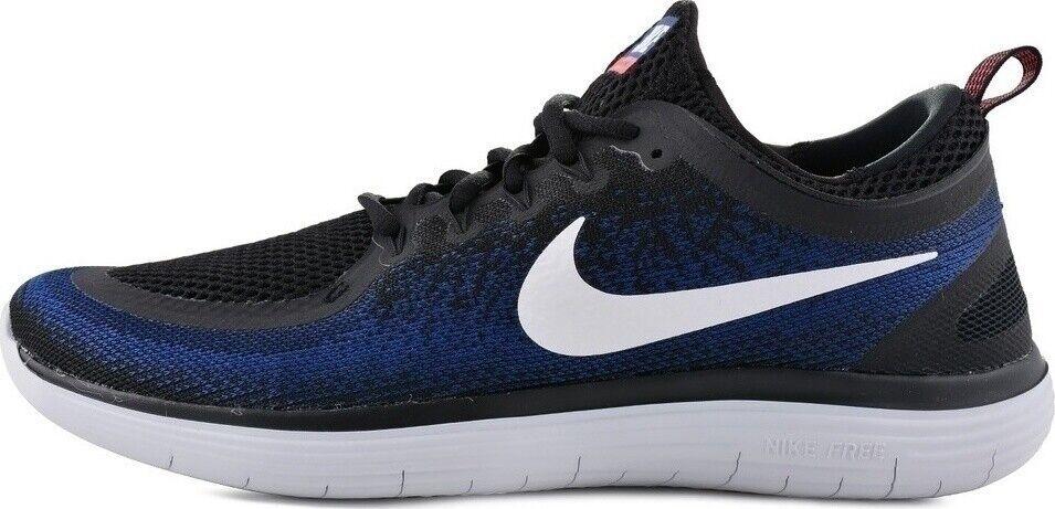 Men Nike Free RN Distance Running Neu Gr 41 US 8 Blau 5.0 Presto Moire Turnschuhe