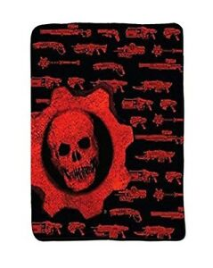 Loot-Gaming-Crate-Exclusive-Weapon-Lancer-GEARS-OF-WAR-Blanket-Fleece-Throw-NEW