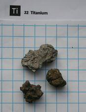 Titan metall Titanium metal 10 gram 99,9% pure element 22 sample