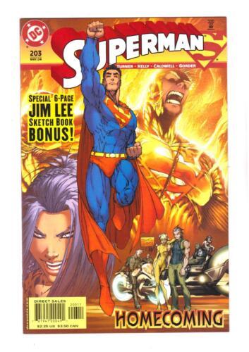 NM+ JIM LEE SKETCH BOOK * SUPERMAN VOLUME II 203 FREE SHIPPING