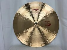 "Paiste 2002 24"" Swish Ride Cymbal/New-Warranty/Free Pearl BC-820 Boom Stand!"