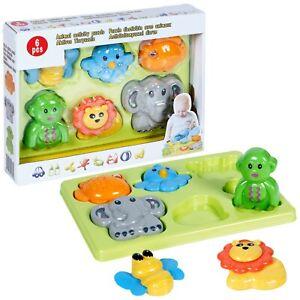 Bambini-Childrens-Animale-di-Puzzle-Forma-Sorter-Colorato-Pedagogico-Gioco-Learn