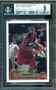 LeBron-James-Rookie-Card-2003-04-Topps-Collection-221-BGS-9-9-5-8-5-9-5-10