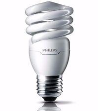 Philips Tornado 20W CFL GLOBE Spiral Bulb T2 SCREW WARM WHITE - 3pcs