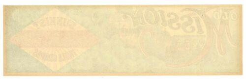 AN ORIGINAL LABEL! green OLD MISSION Vintage Redbanks Grape Crate Label Monks