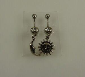 celestial-Sun-Moon-2-set-belly-button-ring-piercing-body-jewelry