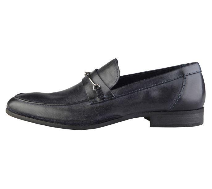 Versace v1969 Armand Noir Bleu Véritable CUIR Chaussures Hommes Business 40 42 44