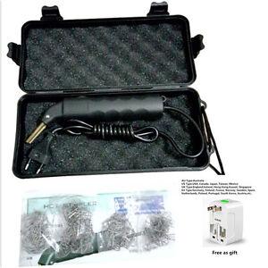 hot led stapler plastic repair kit car bumper welder gun. Black Bedroom Furniture Sets. Home Design Ideas