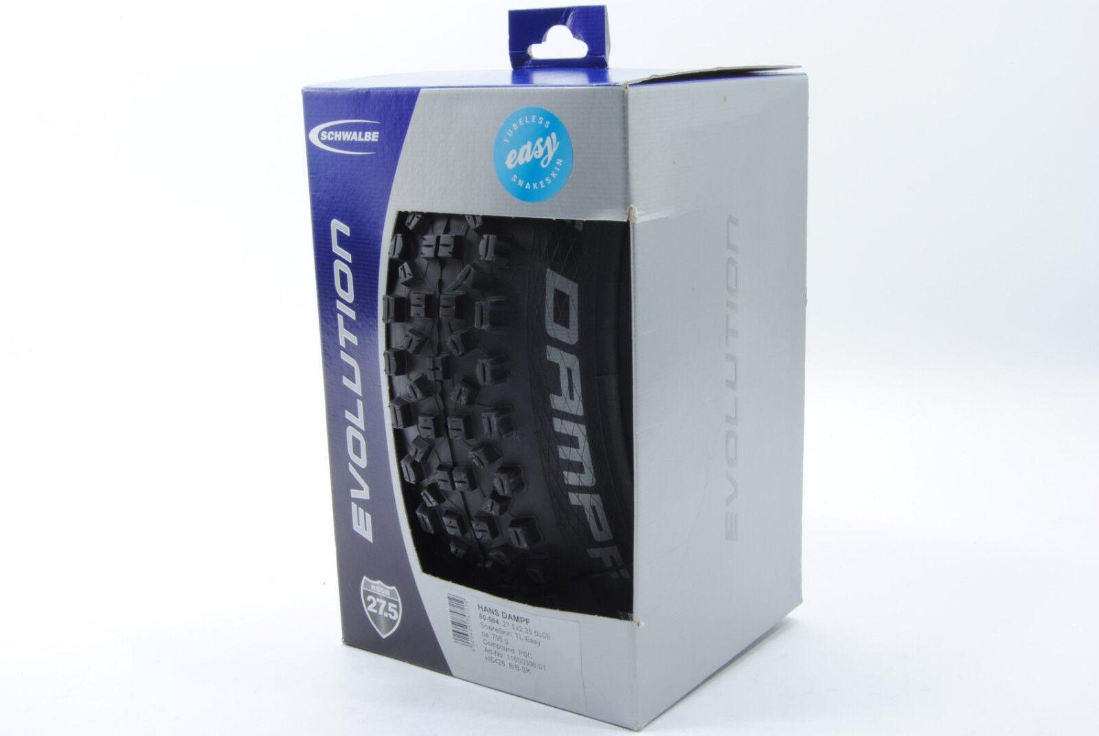 SCHWALBE HANS DAMPF Pacestar Snakeskin TL-READY EASY 27.5 x 2.35 Tire 27.5x2.35