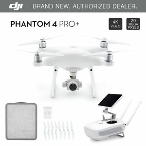 DJI-Phantom-4-PRO-PLUS-Drone-4k-w-Gimbal-Camera-1080p-20MP-5-5-034-Display-NEW