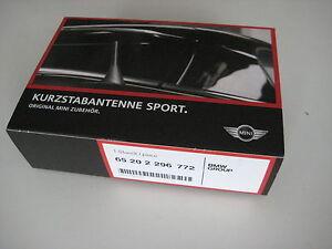 Original-MINI-Antenne-Kurzstabantenne-Sportantenne-Dachantenne-NEU