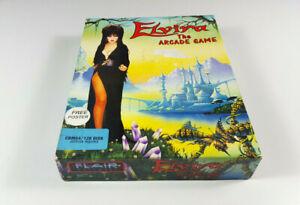 Elvira-The-Arcade-Game-by-FLAIR-Commodore-64-DISK-C64-Spiel-CIB-OVP-VGC-RAR