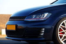 VW Golf MK7 GTI Style Lighting Package Badgeless Mesh Euro Sport Front Grill 15-