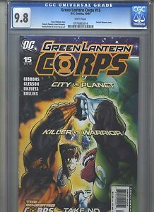 Green-Lantern-Corps-15-CGC-9-8-2007-Highest-Grade-Only-3-9-8