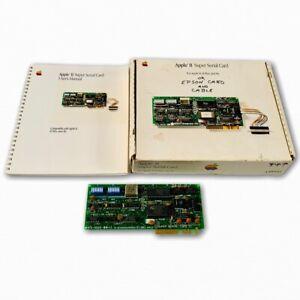 1981-Apple-II-Super-Serial-Card-A2B0044-for-II-II-Plus-amp-IIe-w-Box-and-Manual