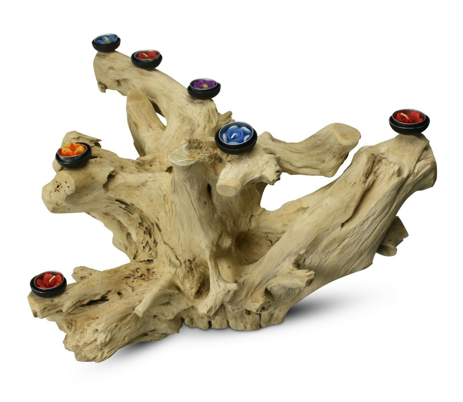 Natural Driftwood root candle holder, Very Very Very Large Approx 47cm high, BT41 Thailand 7d278f