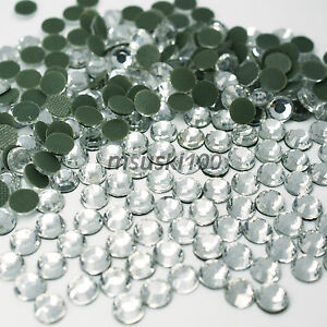 Hotfix-Rhinestones-Crystal-Glass-Iron-On-Gem-Diamante-Diamond-Bling-Craft-Art