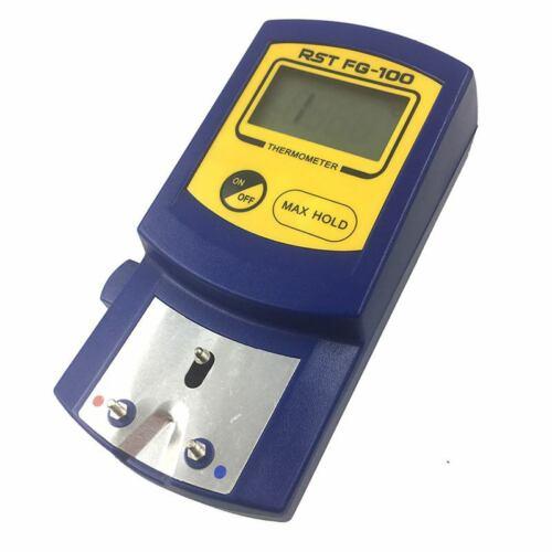 FG-100 Thermomètre De Pointe De Fer À Souder Numérique Testeur De Tempéra f4