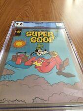 Whitman Super Goof Comic #62 Very Rare CGC Graded 7.0 See Photos