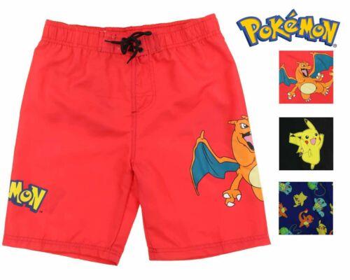 InGear Boys Pokemon Swim Trunk Shorts-Pikachu,Charizard,Bulbasaur,Charmander
