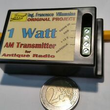 Trasmettitore in Onde Medie AM per Radio Antiche e d'Epoca da 1 watt efficaci