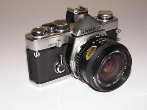 vintage olympus om2 slr 35mm film camera with lens manual case rh ebay co uk olympus e10 camera manual olympus om10 camera manual
