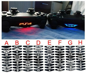 best loved 59077 a021e Details about Spider-Man and Jordan Led Light Bar Stickers for PlayStation  4 PS4 Controller