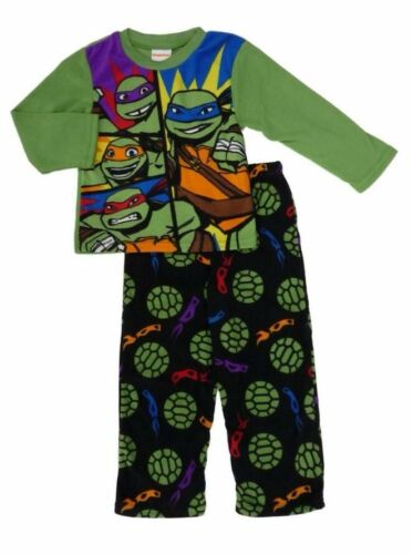 NEW Winter Pyjamas Boy Sleepwear TMNT Ninja Turtle A Sz 4,6,8,10