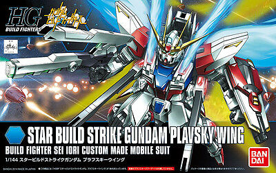 HGBF 1/144 Star Build Strike Gundam Plavsky Wing Plastic Model Kit Bandai