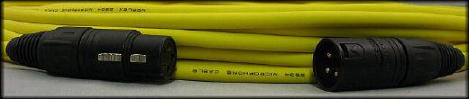 De Lujo Mogami Quad w2534 equilibrado XLR-M a XLR-F Cable Cable Cable De Micrófono-Amarillo 25ft  hasta un 65% de descuento