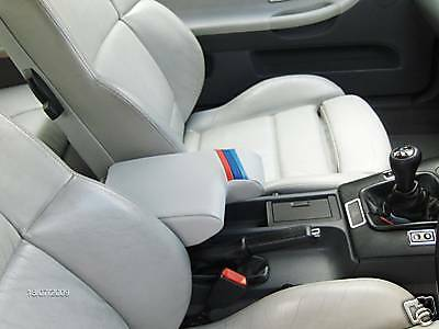 FITS BMW E36 LEATHER ARM REST COVER /& FITTING INSTRUCTIONS