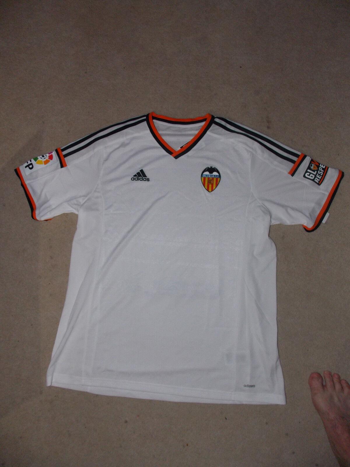 Adidas FC Valencia Herren Fußball Trikot weiß Gr. Gr. Gr. XXL  | Die Qualität Und Die Verbraucher Zunächst  2d4c06