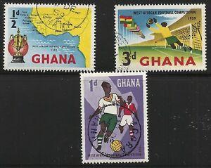 Ghana-Scott-61-63-Singles-1959-FVF-Used
