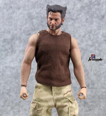 Khaki Vest 1//6 Soldier Men/'s Underwear Model Cloth set Fit 12/'/' Figure Body Toys