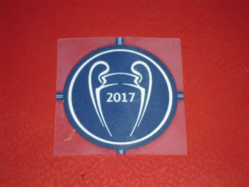 PATCH OFFICIEL REAL CHAMPION LEAGUE DES CHAMPIONS 2017