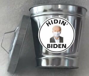 Hidin' Biden Mini Trashcan - Original Collectible Novelty Mini Trashcan