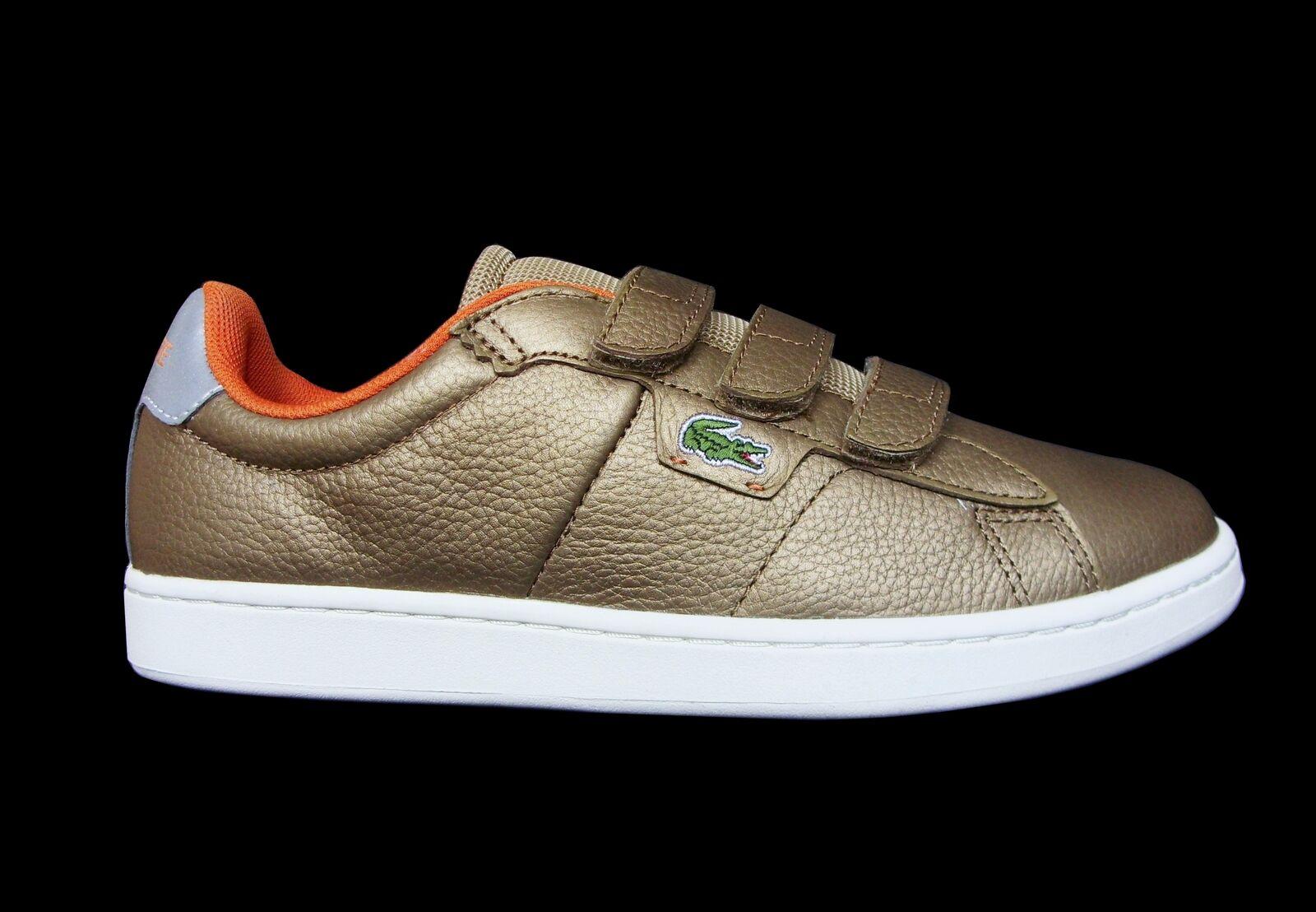 LACOSTE LIVE Label Label Label Broadwick Strap scarpe da ginnastica Uomo Bronzo Marronee Taglia | Funzione speciale  7606b8