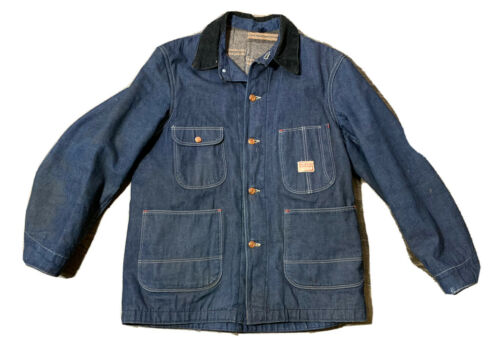 VTG 50's Hercules Men's Denim Blanket Lined Jacket