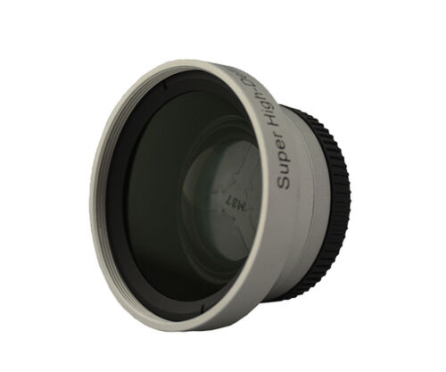 desmontables macro para videocámara canon JVC Panasonic Sony Gran angular 37mm incl