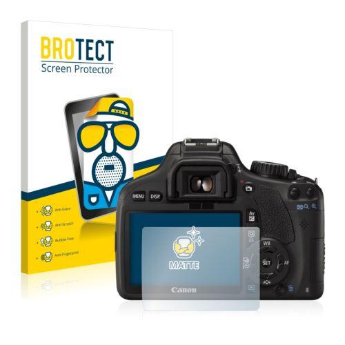 2x protezione schermo per Canon EOS 550D Matte protezione Pellicola Anti Abbagliamento