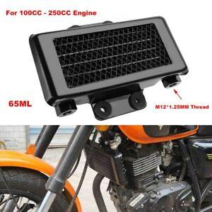 Universal Engine Oil Cooler Cooling Radiator For Motorcycle Dirt Bike 100 250cc Ebay