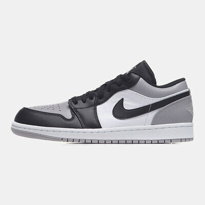 Nike Air Jordan 1 Low Grey Toe size 12.5. White Black. 553558-110. shadow  barons | eBay